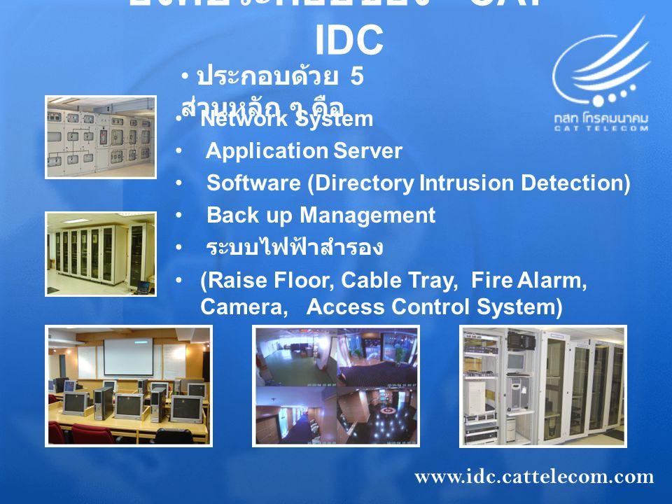 องค์ประกอบของ CAT - IDC