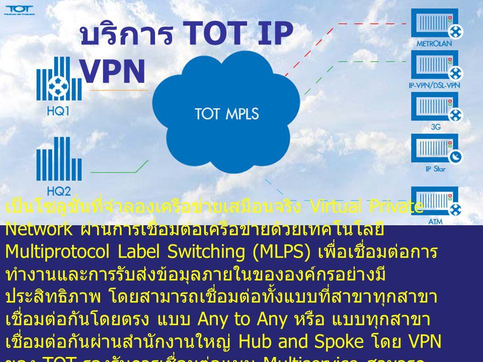 บริการ TOT IP VPN