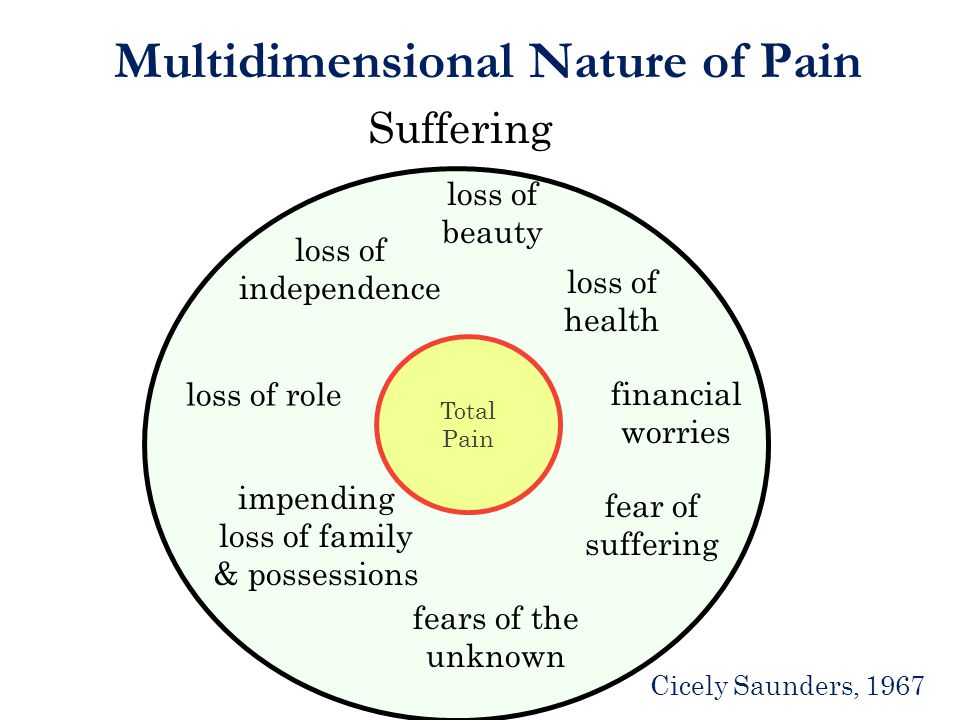 Multidimensional Nature of Pain
