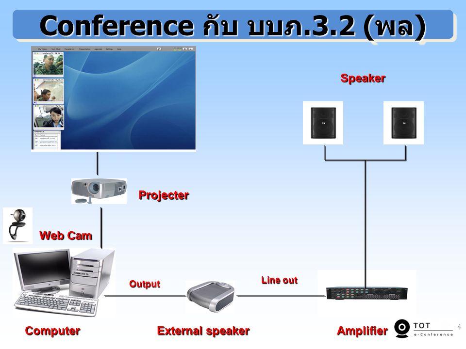 Conference กับ บบภ.3.2 (พล)