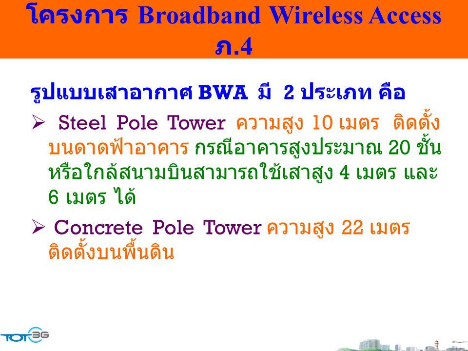 โครงการ Broadband Wireless Access ภ.4