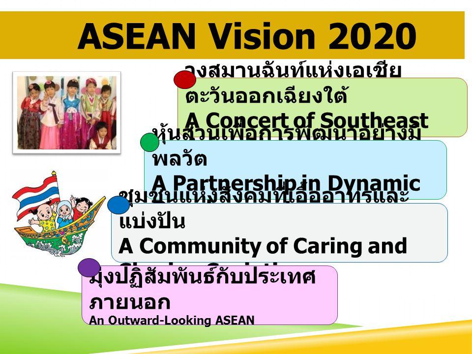 ASEAN Vision 2020 วงสมานฉันท์แห่งเอเชียตะวันออกเฉียงใต้