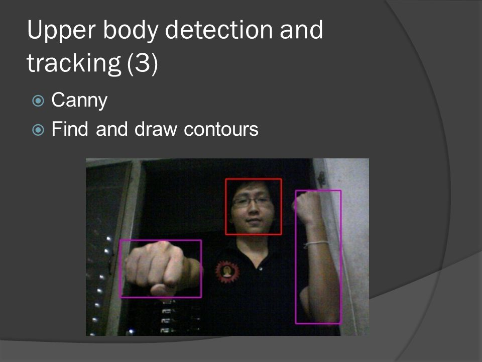 Upper body detection and tracking (3)