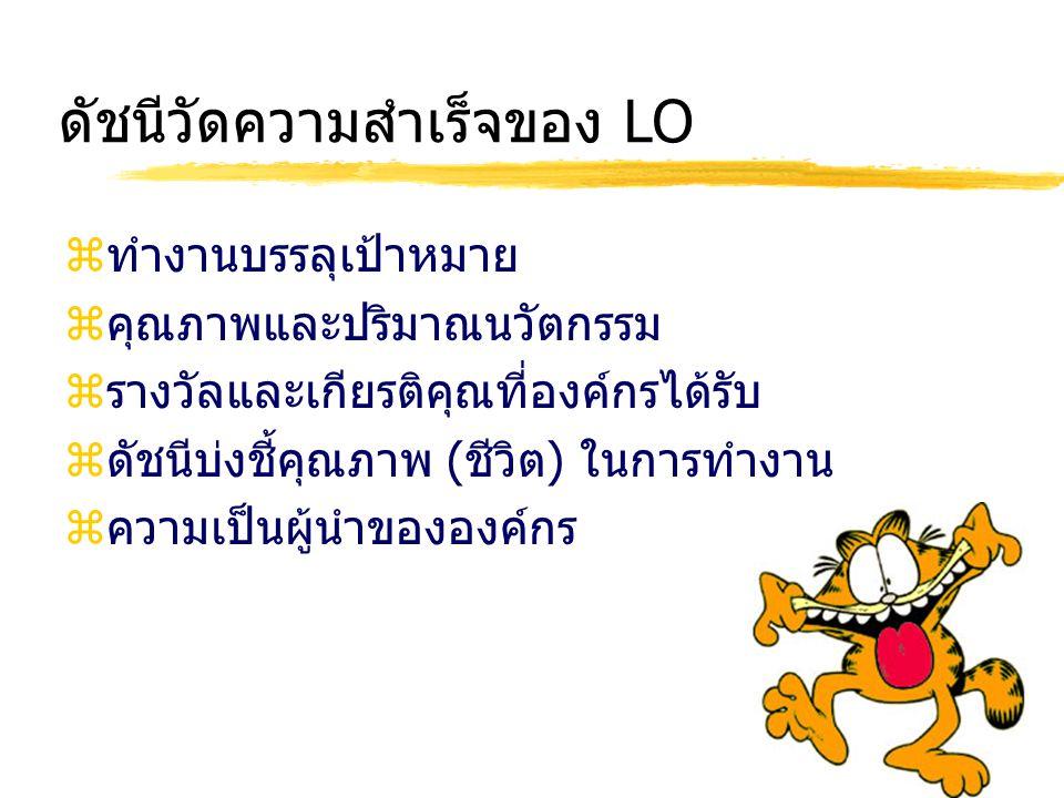 ดัชนีวัดความสำเร็จของ LO