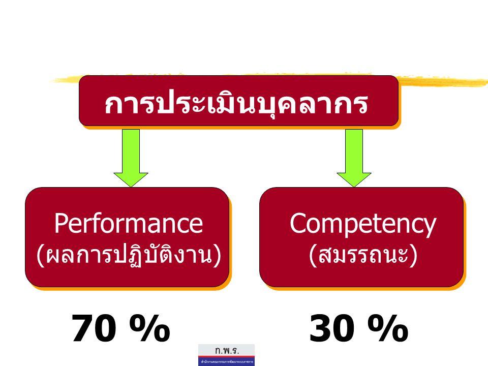 Performance (ผลการปฏิบัติงาน)