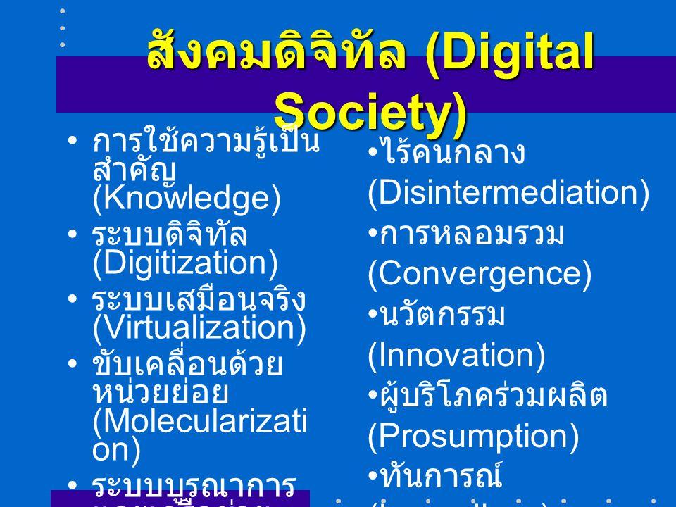 สังคมดิจิทัล (Digital Society)