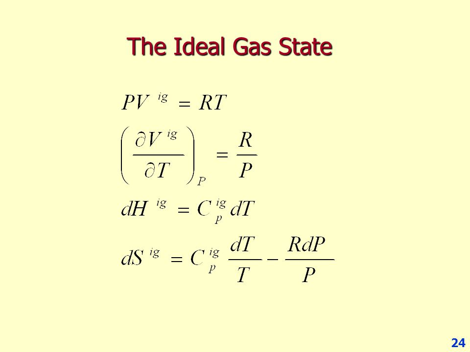 The Ideal Gas State