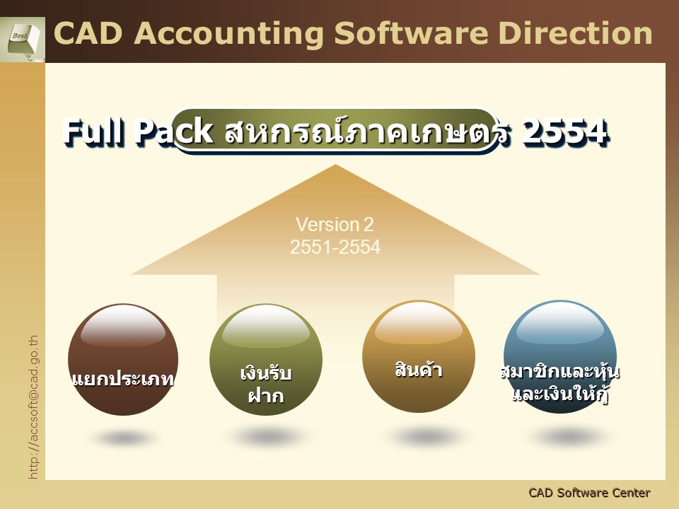 CAD Accounting Software Direction