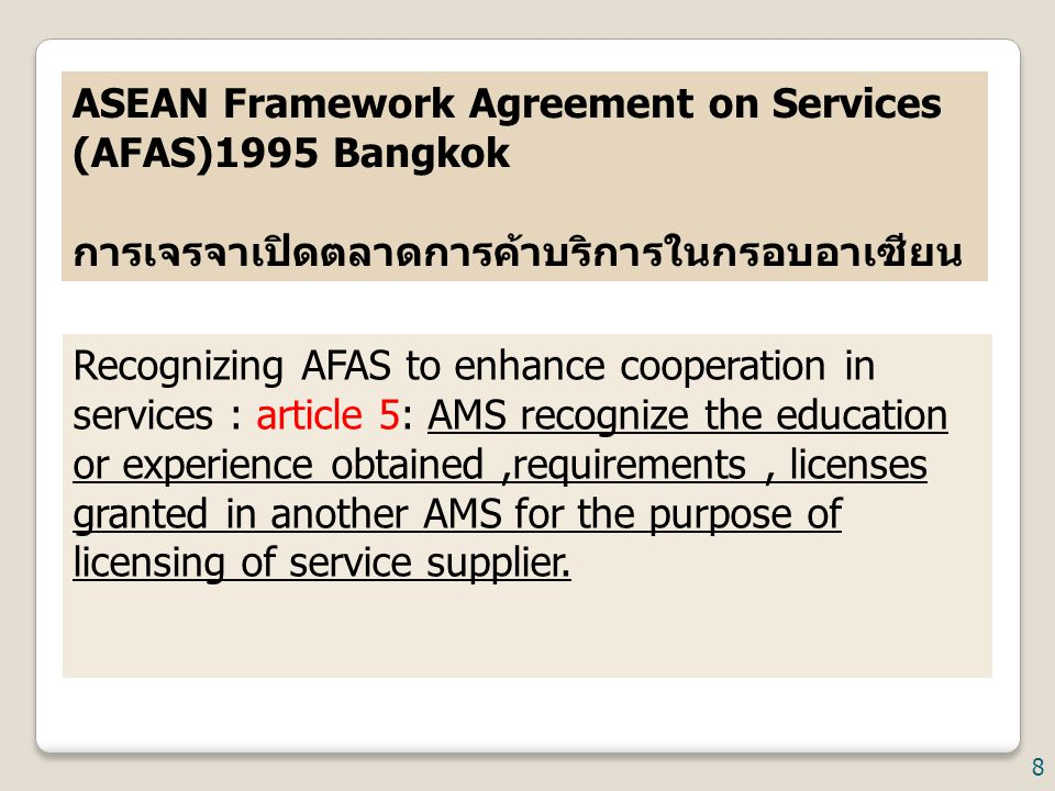 ASEAN Framework Agreement on Services