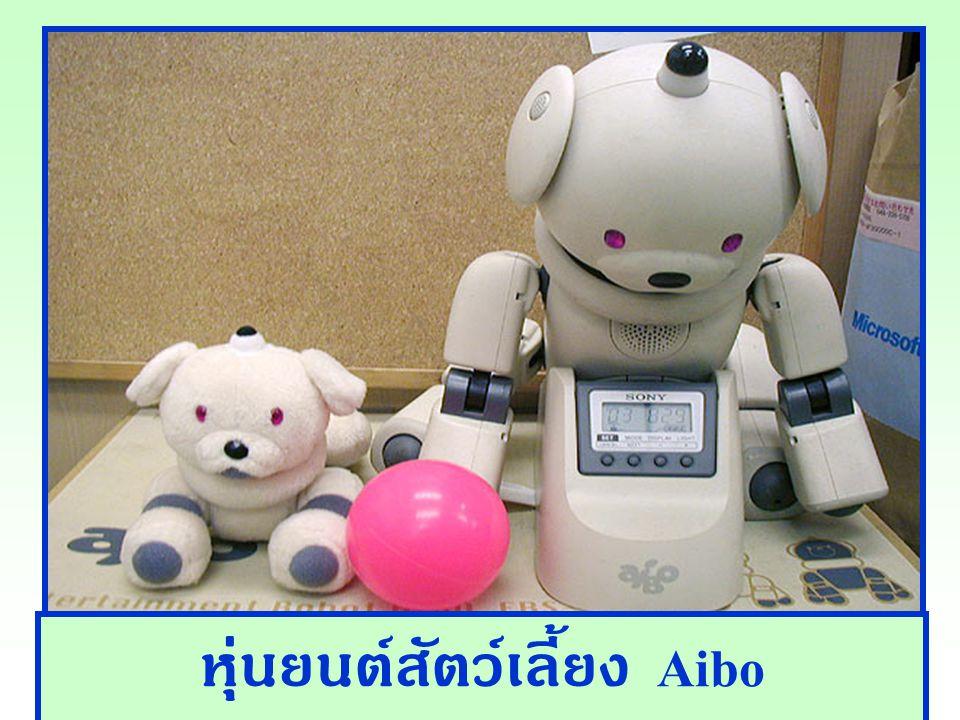 หุ่นยนต์สัตว์เลี้ยง Aibo