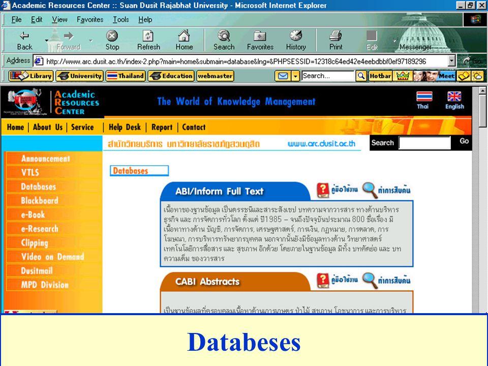 Databeses