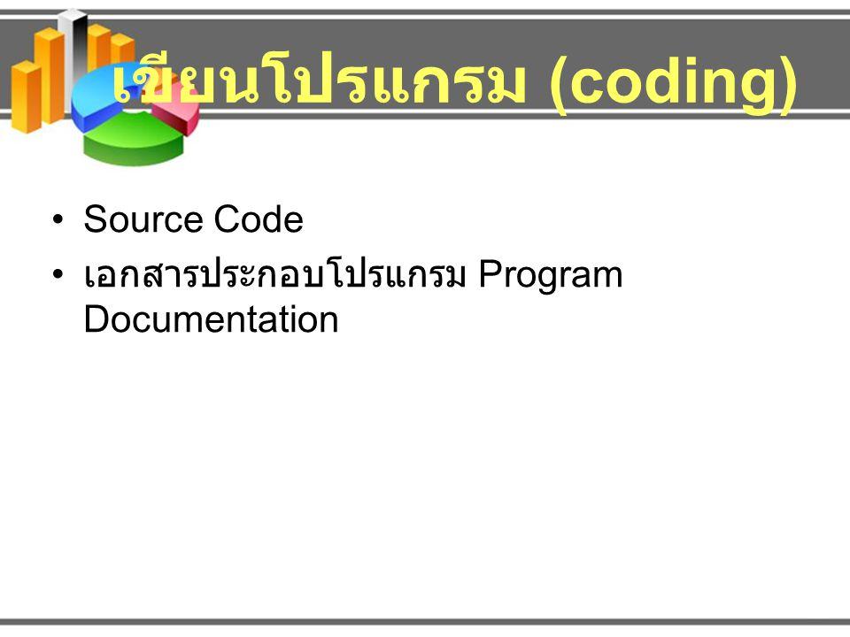 เขียนโปรแกรม (coding)