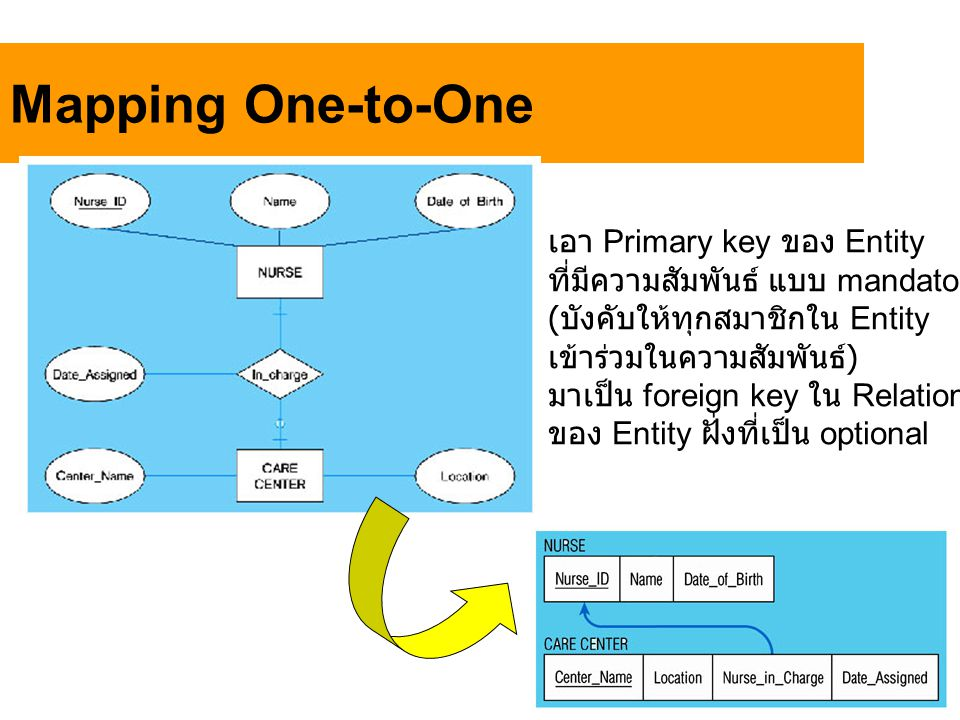 Mapping One-to-One เอา Primary key ของ Entity
