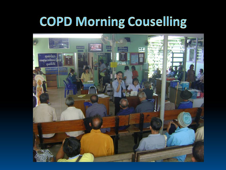 COPD Morning Couselling