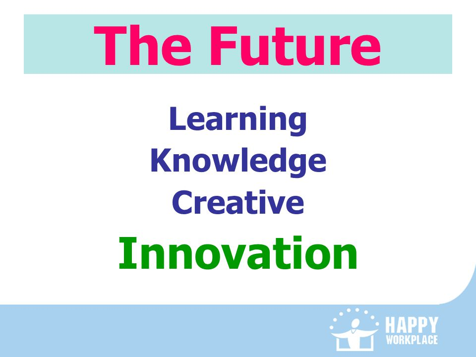 The Future Learning Knowledge Creative Innovation