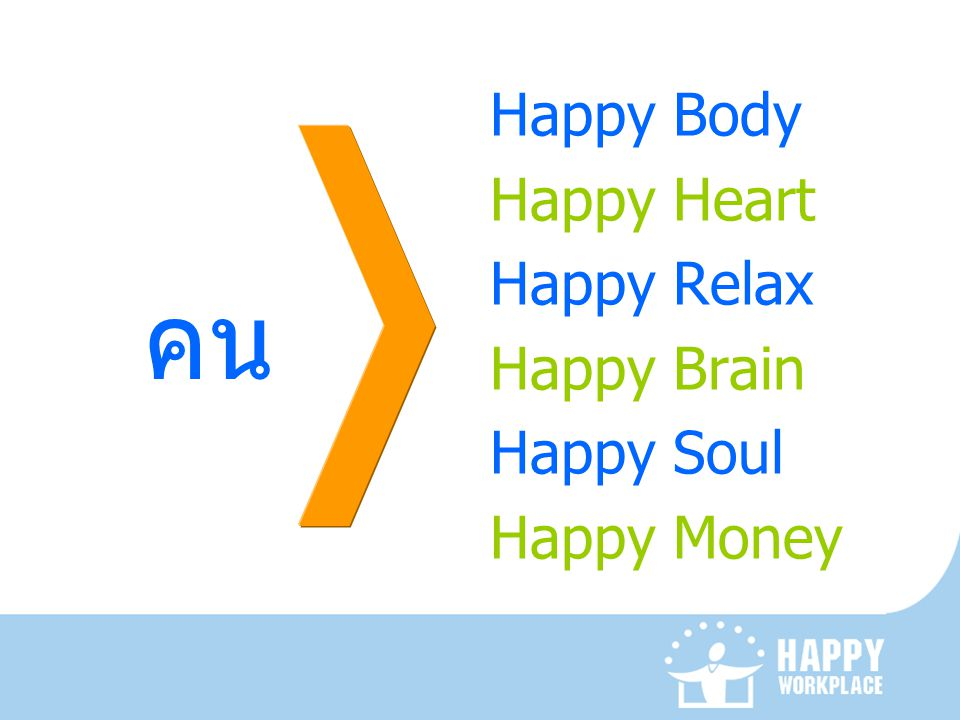 คน Happy Body Happy Heart Happy Relax Happy Brain Happy Soul