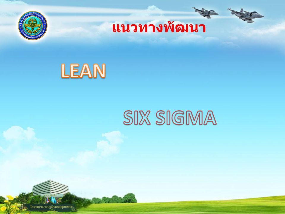 แนวทางพัฒนา LEAN SIX SIGMA