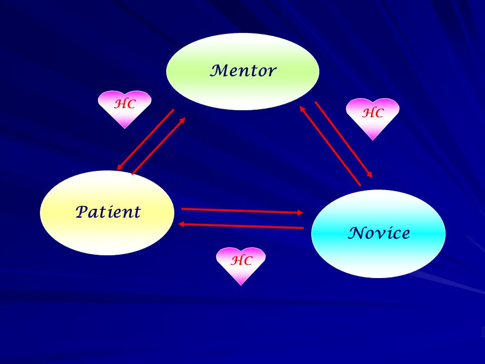 Mentor HC HC Patient Novice HC
