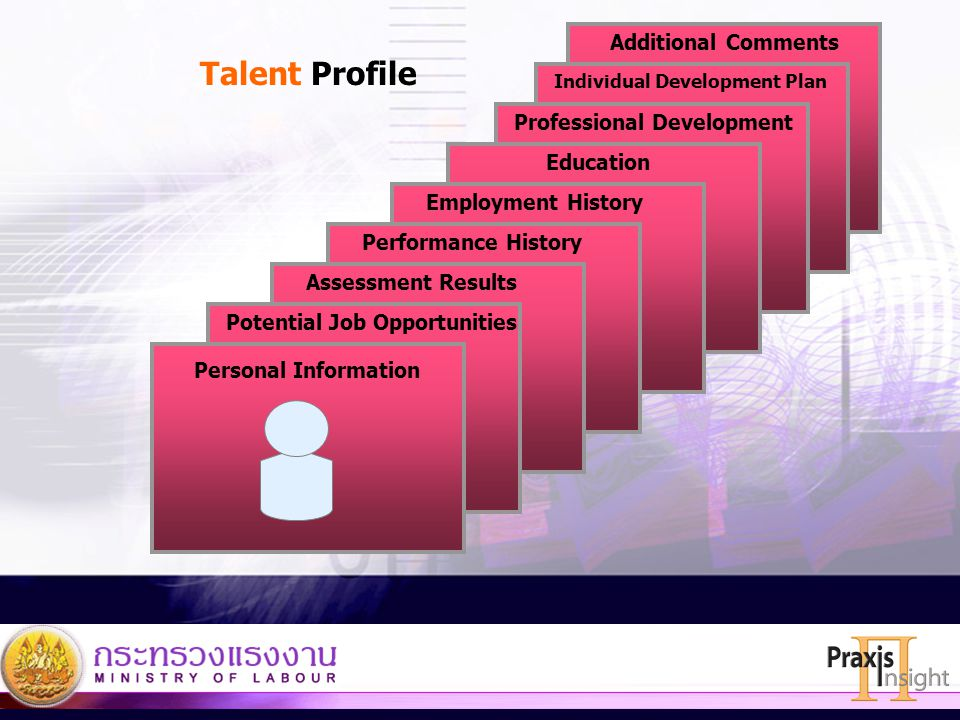 Talent Profile Additional Comments Professional Development Education