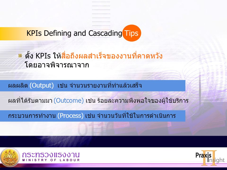 KPIs Defining and Cascading Tips