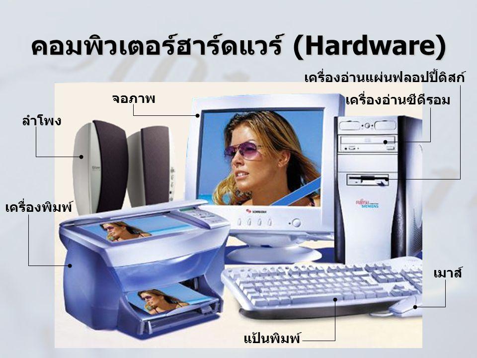 คอมพิวเตอร์ฮาร์ดแวร์ (Hardware)