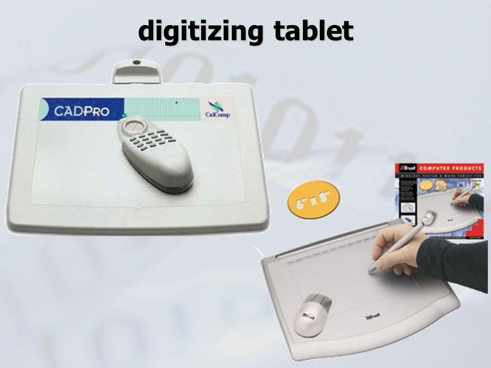 digitizing tablet