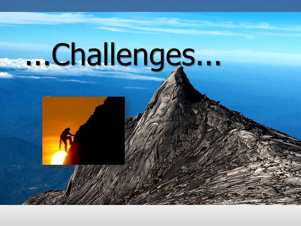 ...Challenges... Challenge!!!!
