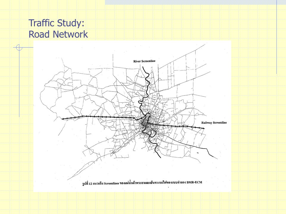 Traffic Study: Road Network
