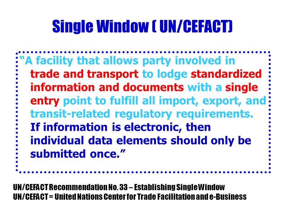Single Window ( UN/CEFACT)