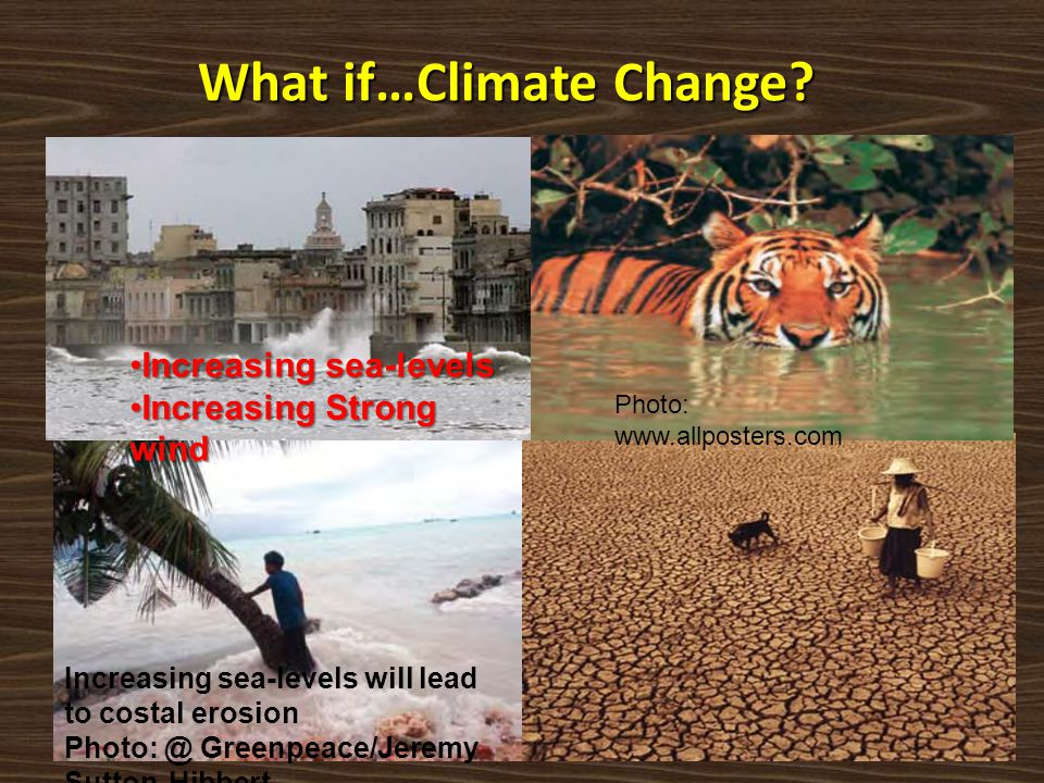 What if…Climate Change