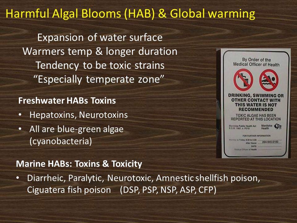 Harmful Algal Blooms (HAB) & Global warming