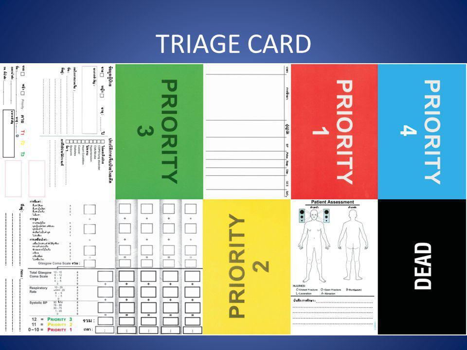 TRIAGE CARD