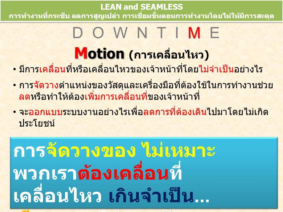 Motion (การเคลื่อนไหว)
