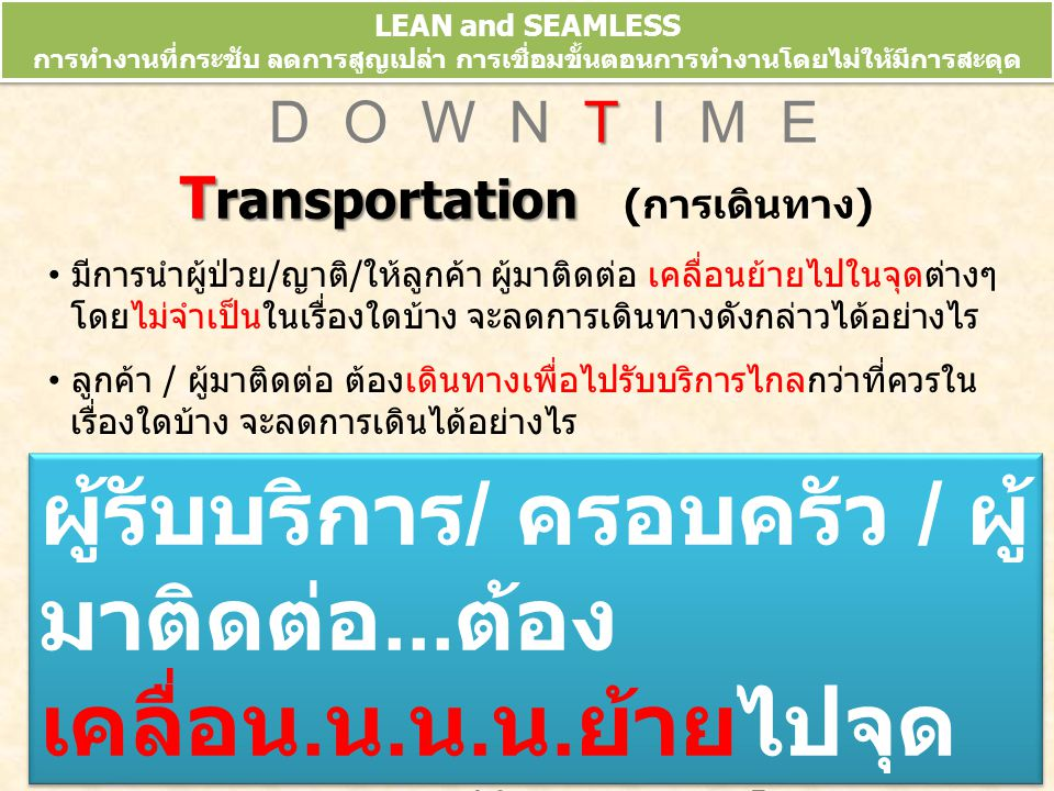 Transportation (การเดินทาง)