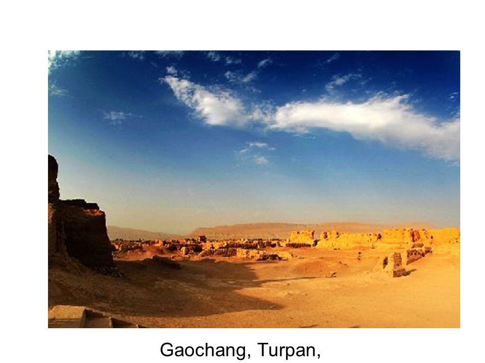 Gaochang, Turpan,
