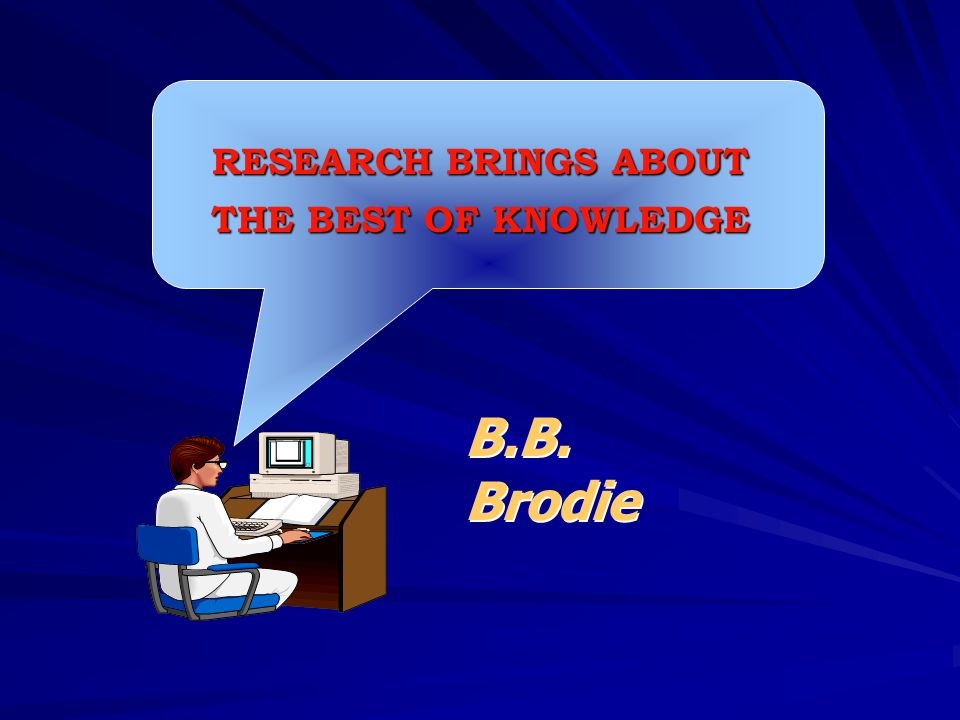 RESEARCH BRINGS ABOUT THE BEST OF KNOWLEDGE