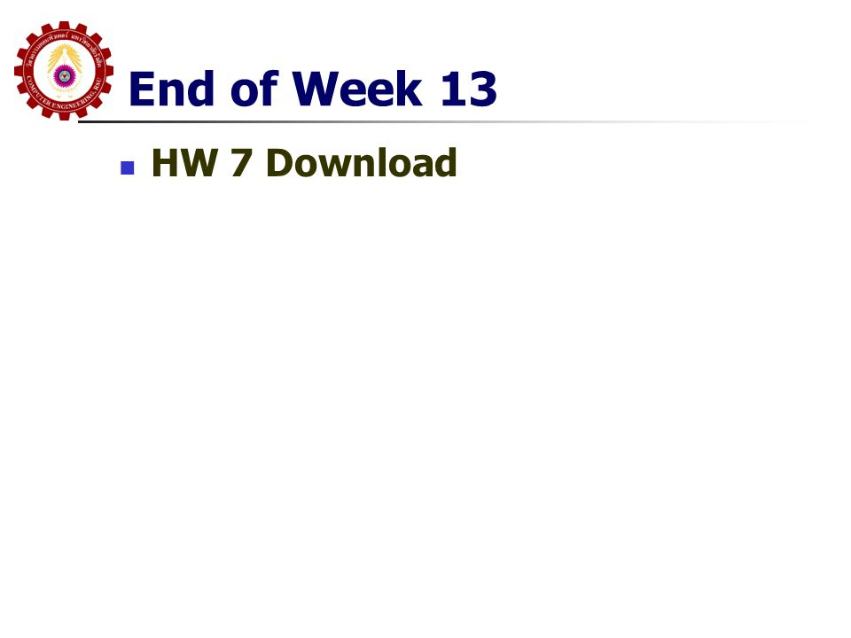 End of Week 13 HW 7 Download