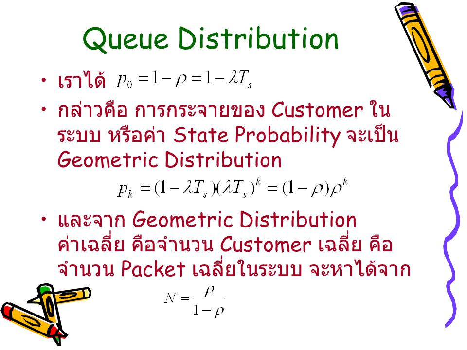 Queue Distribution เราได้