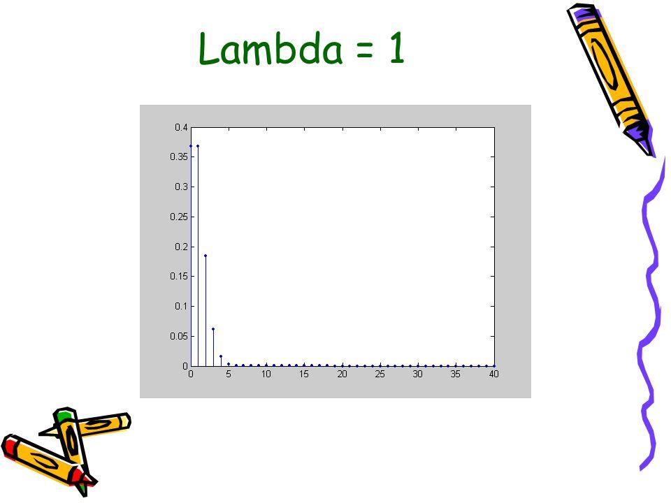 Lambda = 1