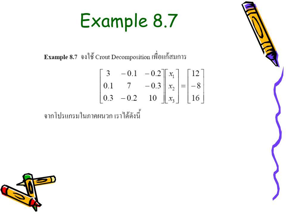 Example 8.7