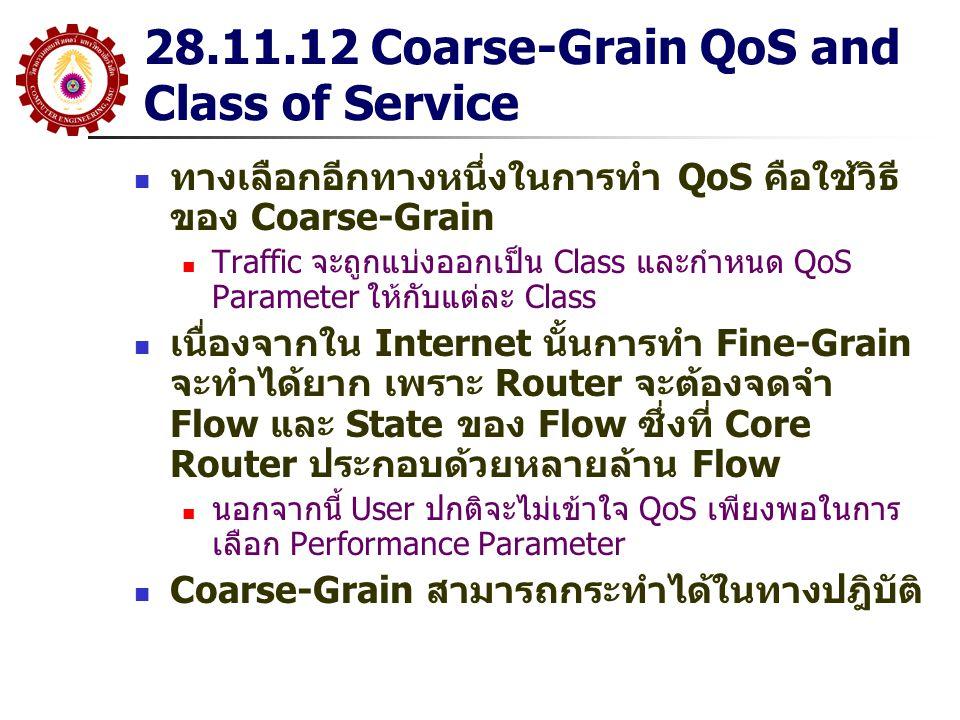 28.11.12 Coarse-Grain QoS and Class of Service