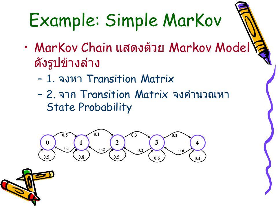 Example: Simple MarKov