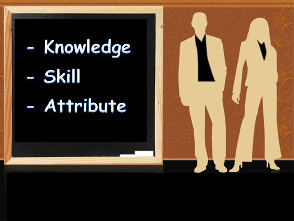 - Knowledge - Skill - Attribute เด็กไปสมัครงานกี่ที่กว่าจะได้รับ