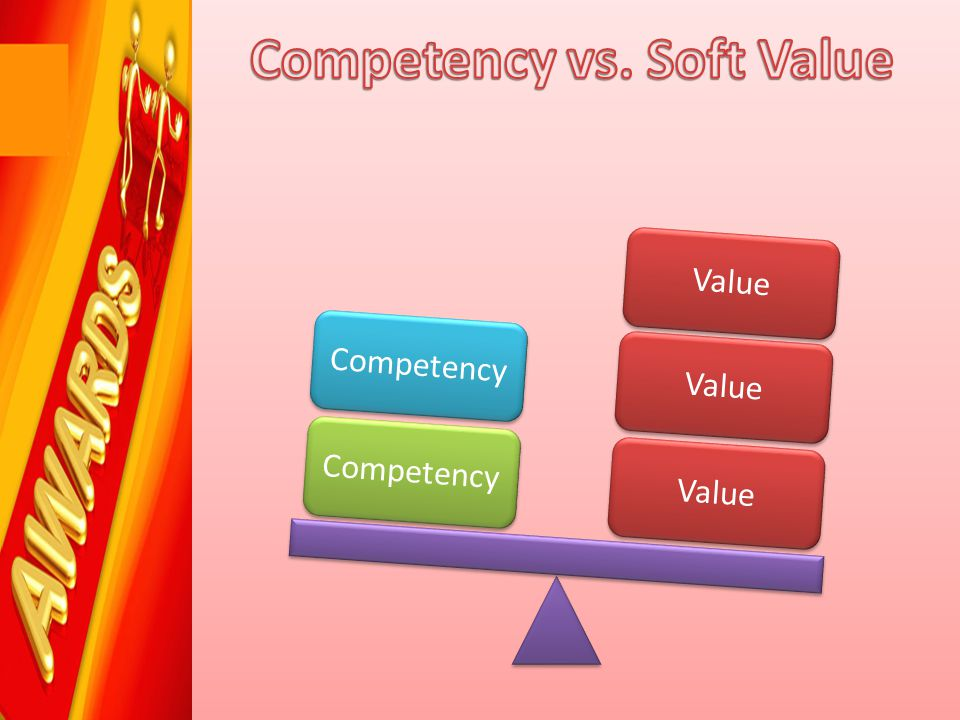 Competency vs. Soft Value