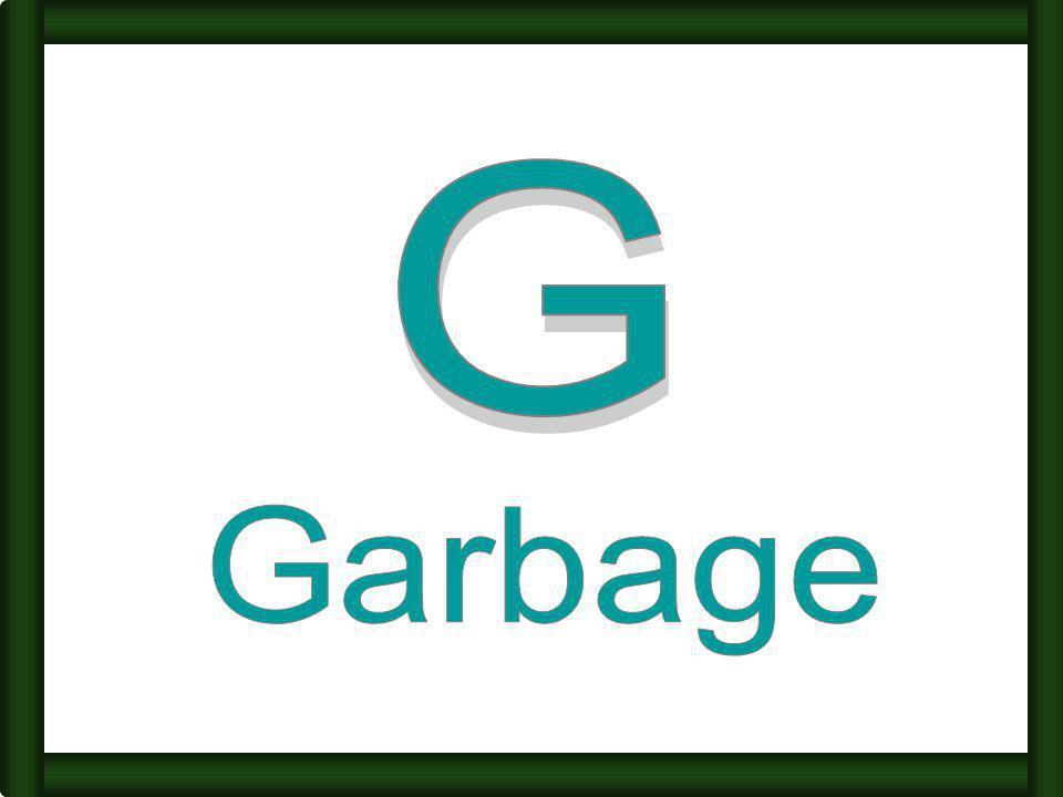 G Garbage