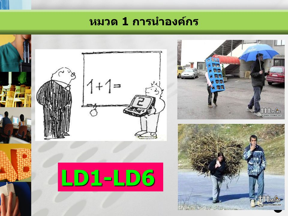 หมวด 1 การนำองค์กร LD1-LD6