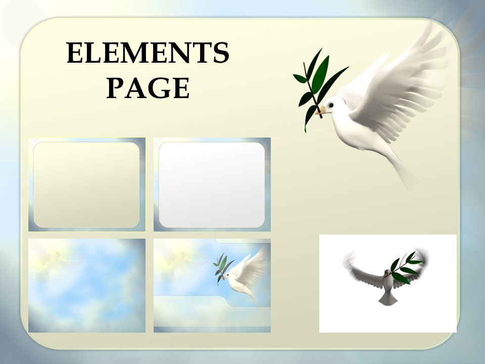 ELEMENTS PAGE