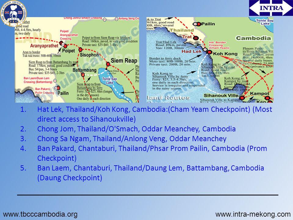 Chong Jom, Thailand/O Smach, Oddar Meanchey, Cambodia