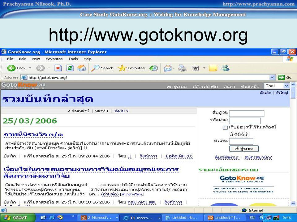 http://www.gotoknow.org