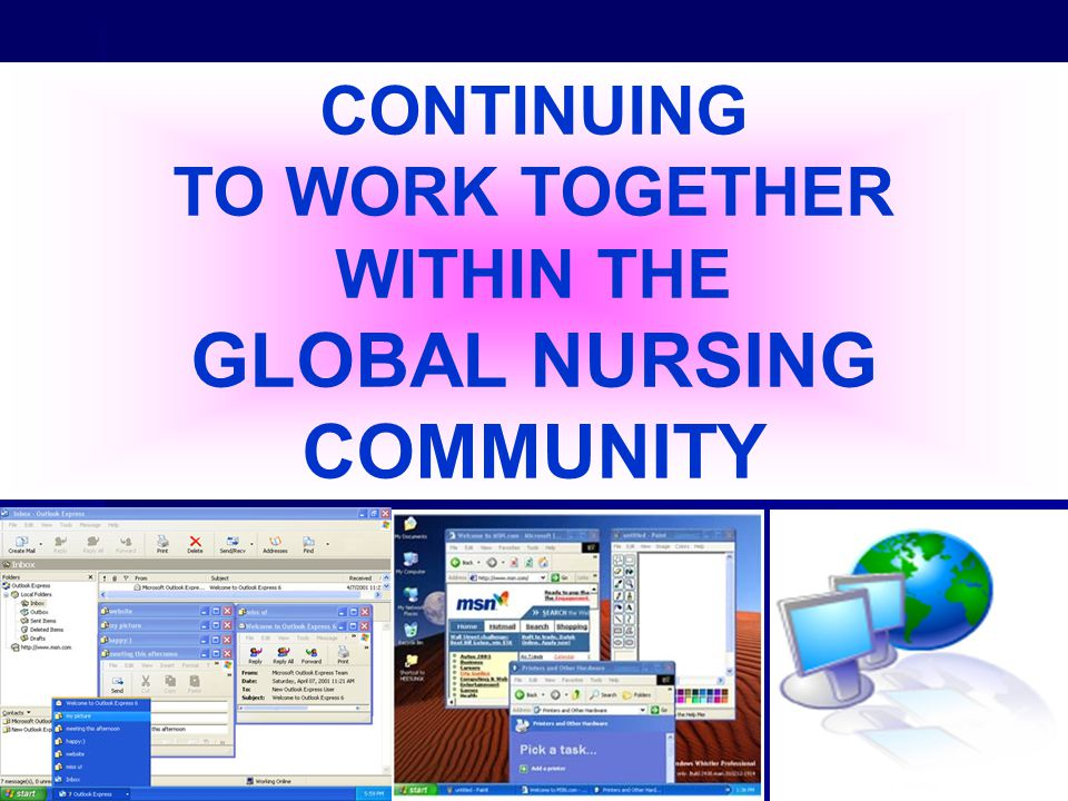 GLOBAL NURSING COMMUNITY